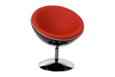 Fotel Milkyway piros - fekete