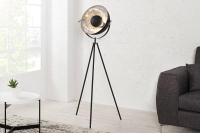 Állólámpa Atelier 140 fekete-ezüst