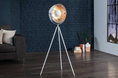 Állólámpa Atelier 140 BS fehér-ezüst