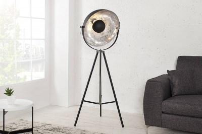 Állólámpa Big Atelier 160  fekete-ezüst