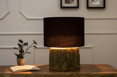 Asztali lámpa Aeldra 40cm fekete