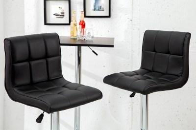 Stílusos bár szék Modern fekete