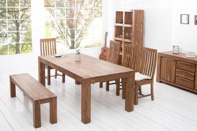 Luxusný jedálenský stôl z masívu Elegant 200cm