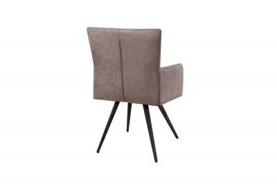 Dizajnová stolička Adda šedá