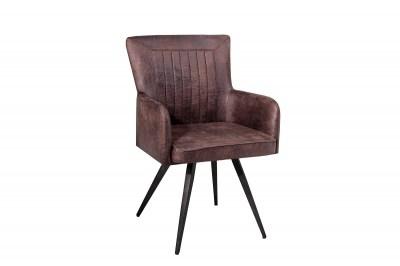 Stílusos szék Adda - barna