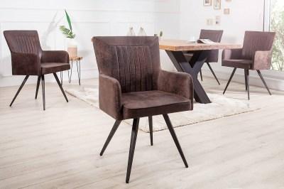 Dizajnová stolička Adda hnedá