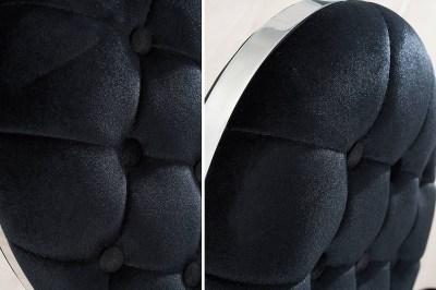 Dizajnová stolička Rococo s operadlom