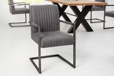 Luxus szék Boss Vintage szürke II