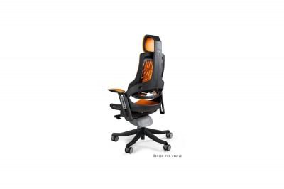 Kancelárska stolička Wanda elastomér sivá
