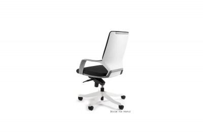 Kancelárska stolička Amanda II biela/čierna