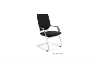 Kancelárska stolička Amanda III biela/čierna