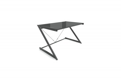 Stílusos asztal Brik fekete/fekete