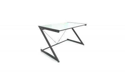 Stílusos asztal Brik fekete/fehér