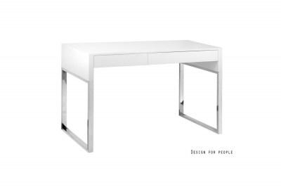 Stílusos íróasztal Brett fehér