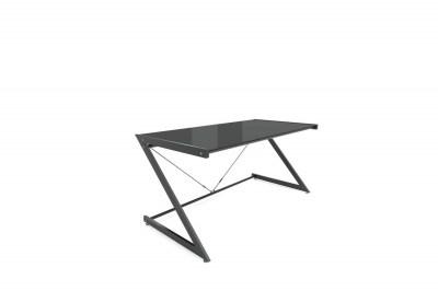 Stílusos asztal Prest fekete/fekete