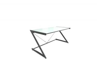 Stílusos asztal Prest fehér/fekete