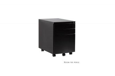 Stílusos szekrény Kristy fekete