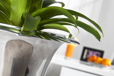 Váza Gracie 75 cm strieborná