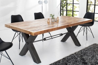 Luxus étkezőasztal masszívból Mango 240 cm