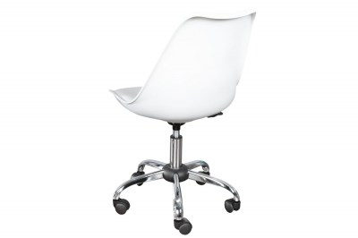 Kancelárska stolička Sweden - biela