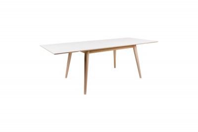 Széthúzható asztal Ronald 230, natúr / fehér