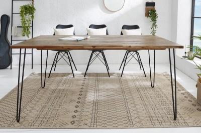 Étkezőasztal Anaya, 160 cm, barna