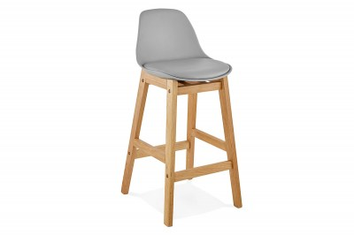 Modern bár szék Evan szürke