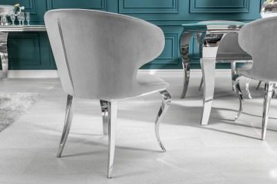 Dizajnova-stolicka-Rococo-II-sivy-zamat3