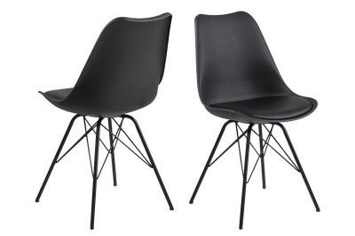 Ízléses szék Nasia - fekete