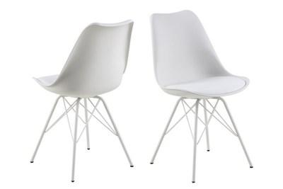 Ízléses szék Nasia - fehér