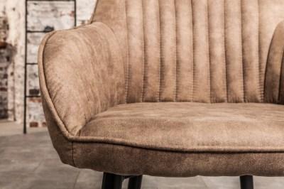 Stílusos szék Esmeralda szürkés bézs