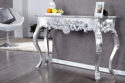 Luxus toalett asztal - konzolasztal Veneto ezüst