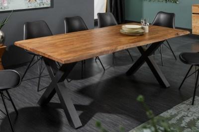 Étkezőasztal Massive X Honey 240 cm - asztallap 60 mm - akácia
