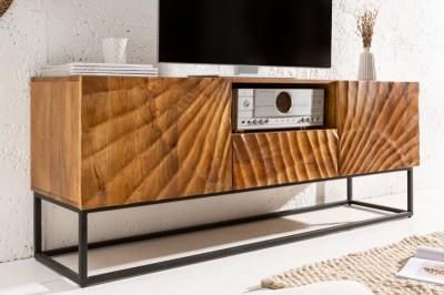 Stílusos TV asztal Shayla 160 cm mangó
