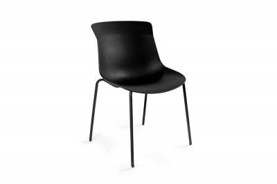 Stílusos szék Ainsley A, fekete