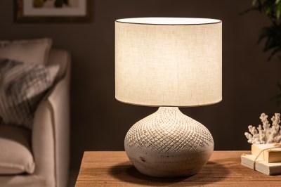 Asztali lámpa Dylan I 43 cm bézs