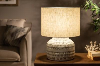 Asztali lámpa Dylan I 47 cm bézs