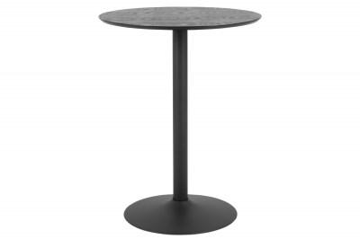 Bárasztal Neesha Ø 80 cm fekete