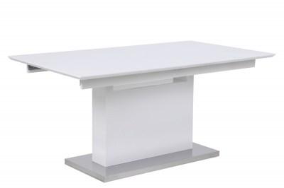 Fehér bővíthető étkezőasztal Nik HG 160/220 cm