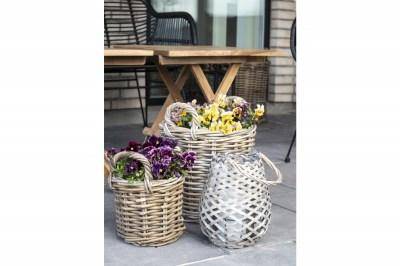 Dekoratív kosár / virágtartó szett Lainey