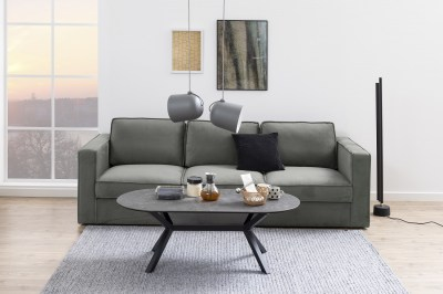 Design 3-szémelyes ülőgarnitúra Danette 249 cm szürke