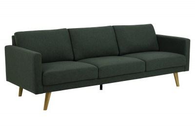 Design 3-szémelyes ülőgarnitúra Danson 221 cm zöld