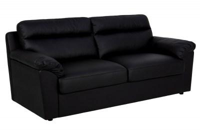 Design 3-szémelyes ülőgarnitúra Darsha 200 cm fekete