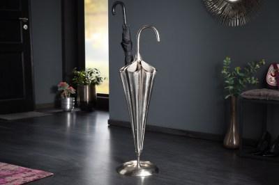 Design állvány esernyőkhöz Harlean 91 cm ezüst