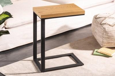 Design asztal laptophoz Giuliana 45 cm tölgy utánzata