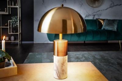 Design asztali lámpa Aamira 52 cm arany