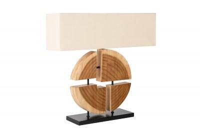 Design asztali lámpa Abbatha 80 cm természetes - bézs