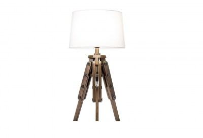 Design asztali lámpa Dawson 59 cm fehér