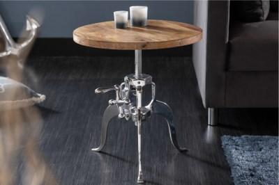 Design dohányzóasztal Adohi 45-62 cm Mangó