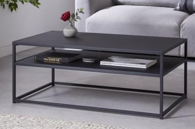 Design dohányzóasztal Damaris 100 cm fekete